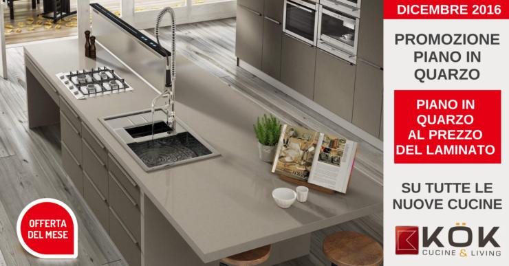 Scopri la promozione Kok per la tua cucina: il piano in quarzo al ...
